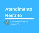 Câmara de Municipal de Carneirinho restringe atendimento presencial