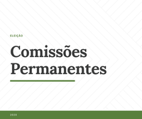 Eleitas as comissões permanentes e lideranças de 2020