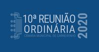 Resumo da 10.ª reunião ordinária de 2020