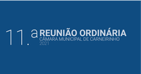 Resumo da 11.ª reunião ordinária de 2021