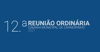 Resumo da 12.ª reunião ordinária de 2021