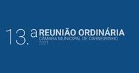 Resumo da 13.ª reunião ordinária de 2021