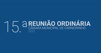 Resumo da 15.ª reunião ordinária de 2021