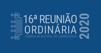 Resumo da 16.ª reunião ordinária de 2020