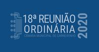 Resumo da 18.ª reunião ordinária de 2020